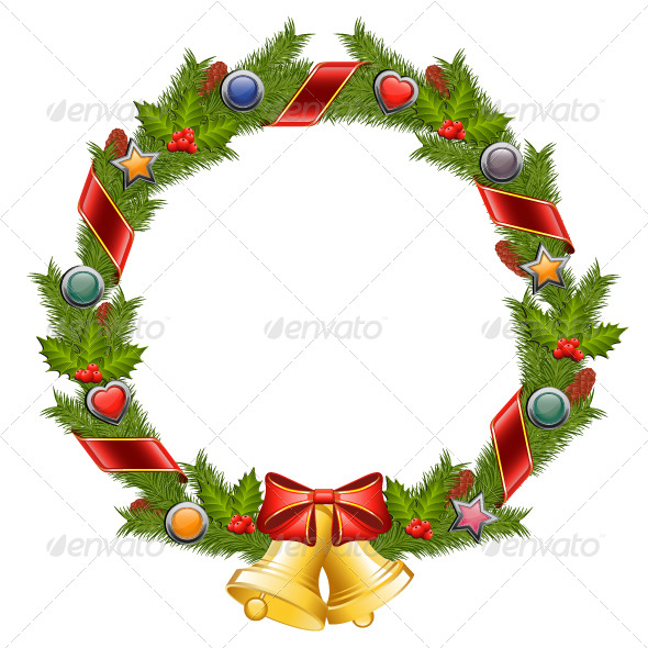 Christmas Wreath - Christmas Seasons/Holidays