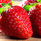 Fresh Red Strawberries On A Wooden Cutting Board - VideoHive Item for Sale