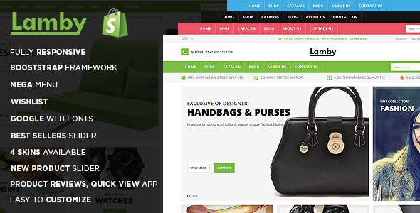 Lamby Shoes Store Shopify Theme & Template - Shopping Shopify