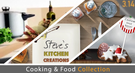 Cooking, Kitchen & Food Collection