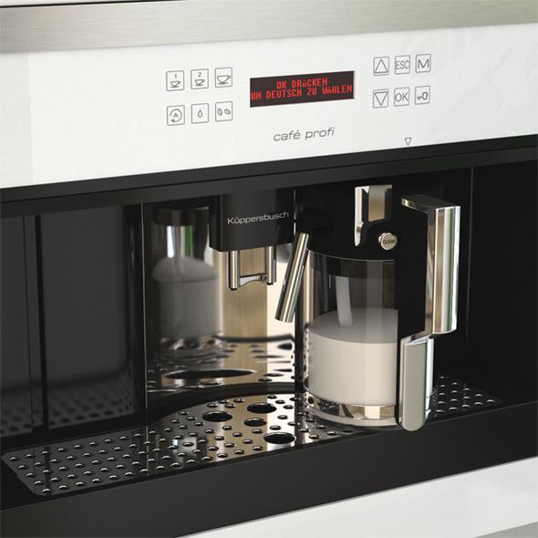 Kuppersbusch Coffee Machine EKV6500 - 3DOcean Item for Sale