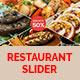 Restaurant Slider  - GraphicRiver Item for Sale