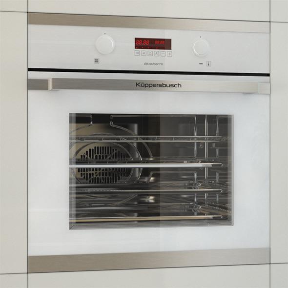 Kuppersbusch Oven EEB6360 - 3DOcean Item for Sale