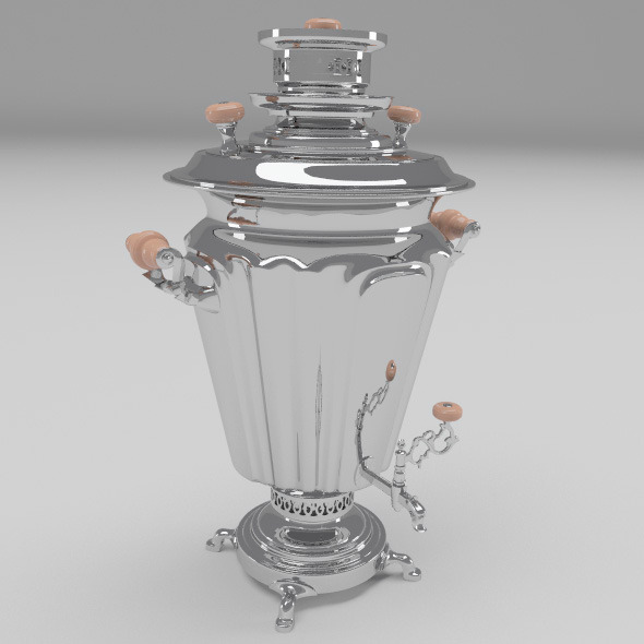 Samovar - 3DOcean Item for Sale