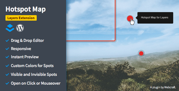 Hotspot Map - Image Tooltips for Layers - CodeCanyon Item for Sale