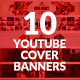 10 Multipurpose YouTube Channel Banners - GraphicRiver Item for Sale