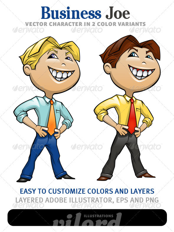 Business Mascot - People Characters