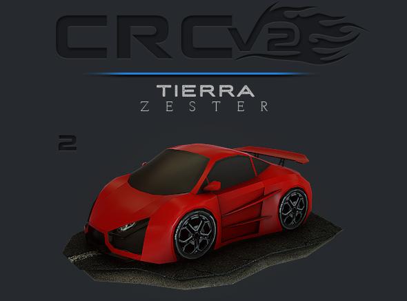 CRCPV2-02 – Cartoon Race Car Pack V2 02 - 3DOcean Item for Sale