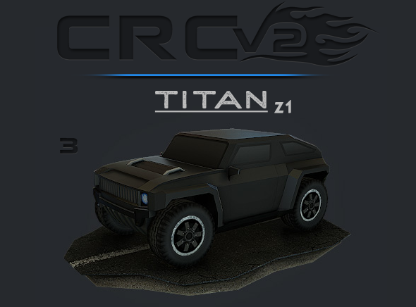 CRCPV2-03 – Cartoon Race Car Pack V2 03 - 3DOcean Item for Sale