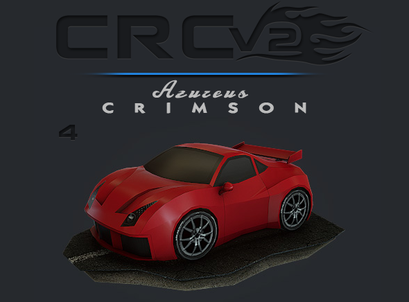 CRCPV2-04 – Cartoon Race Car Pack V2 04 - 3DOcean Item for Sale