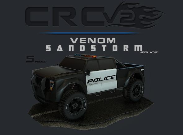 CRCPV2-05p – Cartoon Race Car Pack V2 05p - 3DOcean Item for Sale