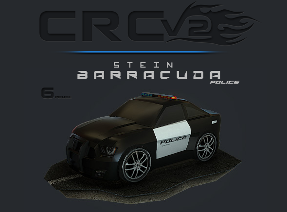 CRCPV2-06p – Cartoon Race Car Pack V2 06p - 3DOcean Item for Sale