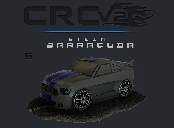 CRCPV2-06 – Cartoon Race Car Pack V2 06 - 3DOcean Item for Sale