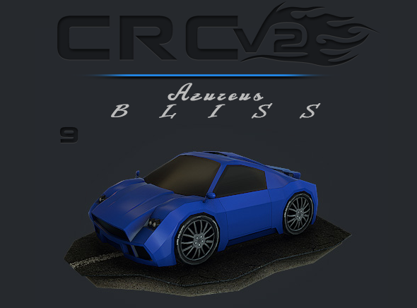 CRCPV2-09 – Cartoon Race Car Pack V2 09 - 3DOcean Item for Sale