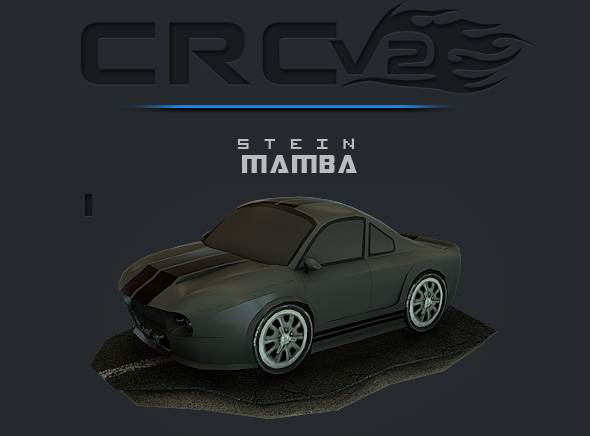 CRCPV2-01 – Cartoon Race Car Pack V2 01 - 3DOcean Item for Sale