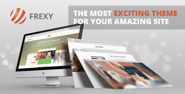 Frexy – Responsive Multi-Purpose Theme