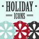 Holiday Icon set - GraphicRiver Item for Sale