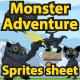 Monster Adventure Sprites Sheet - GraphicRiver Item for Sale