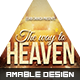 The Way to Heaven Church Flyer - GraphicRiver Item for Sale