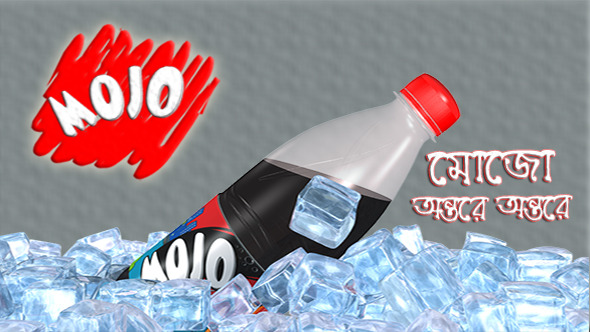 Drinks Bottol & Ice Animaton - 3DOcean Item for Sale