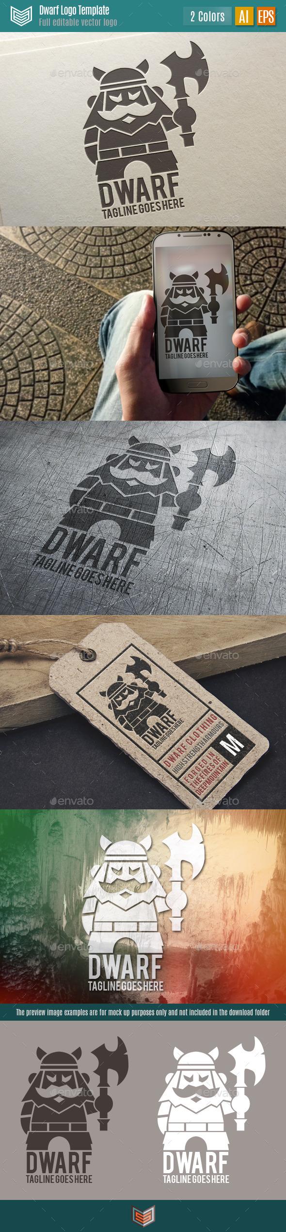 Dwarf Logo - Humans Logo Templates