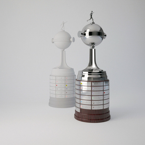 Copa Libertadores Trophy 3d Model By Bhatem 3docean