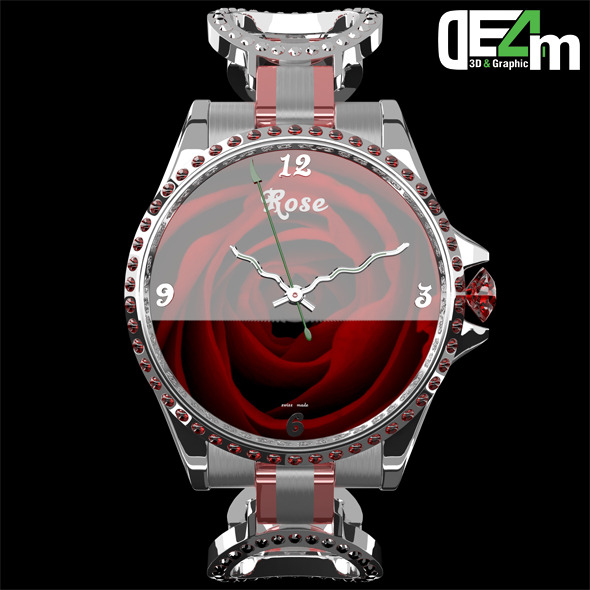 Watch Rose - 3DOcean Item for Sale