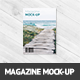 A4 Magazine Mock-up - GraphicRiver Item for Sale