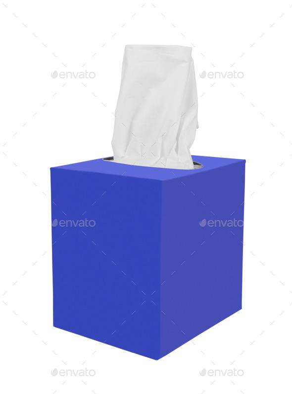 Tissue box - Stock Photo - Images