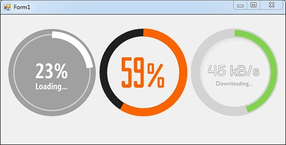 Progress Wheel for Windows Forms - CodeCanyon Item for Sale