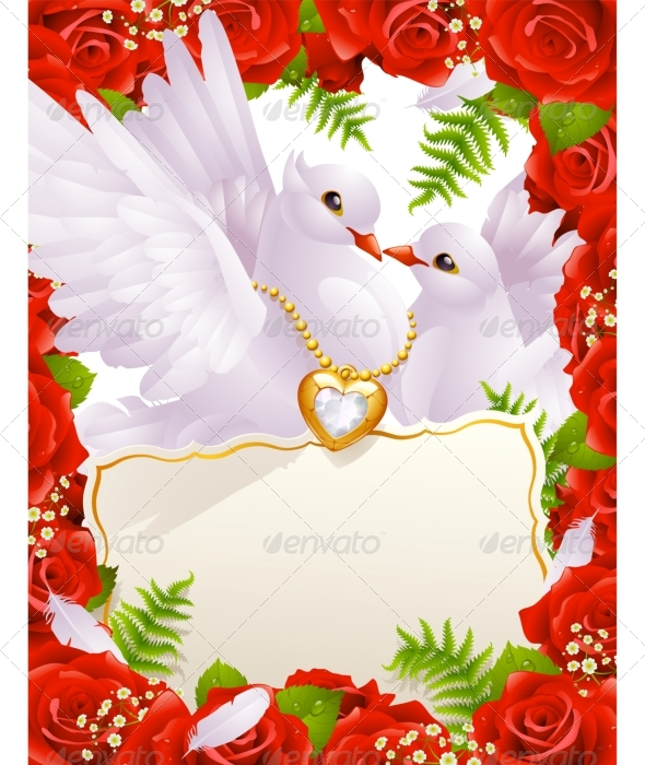 Valentines Day Card Rose 2 - Valentines Seasons/Holidays