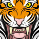 Angry Tiger Head  - GraphicRiver Item for Sale