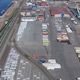 Aerial View to Commercial Sea Port - VideoHive Item for Sale