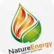 Nature Energy / Fire - Logo Template - GraphicRiver Item for Sale