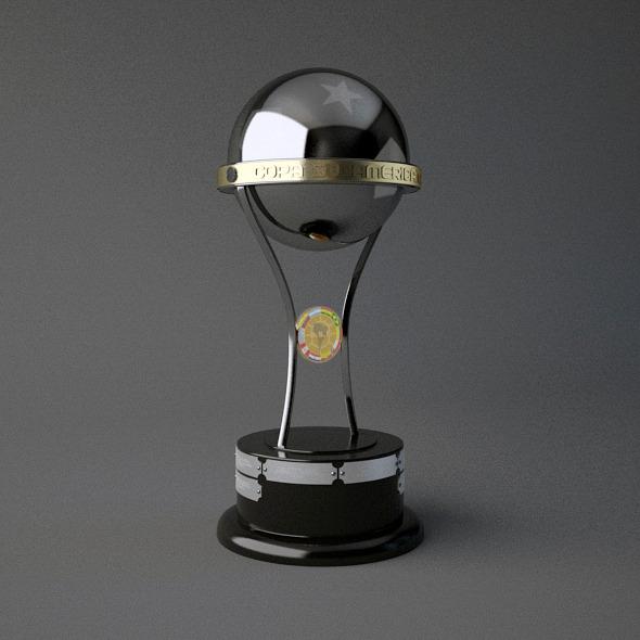 Copa Sudamericana Trophy 3d Model By Bhatem 3docean