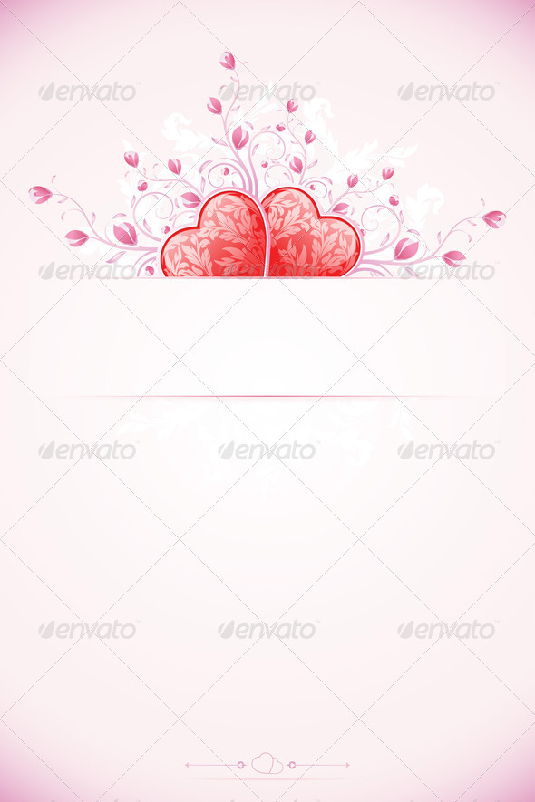 Valentines Day Card Template - Valentines Seasons/Holidays