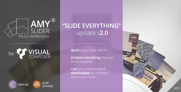 AMY Slider for Visual Composer - CodeCanyon Item for Sale
