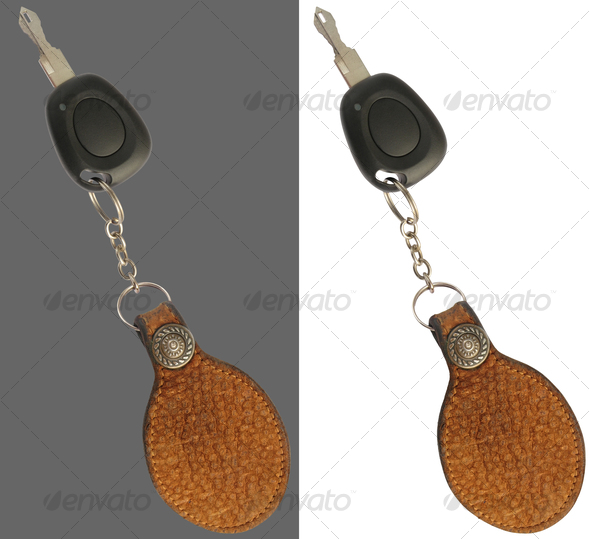 Key and keyring - Home & Office Isolated Objects