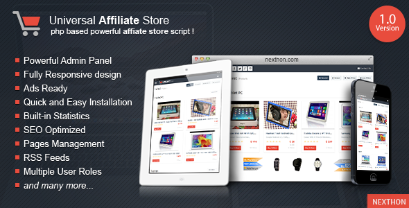 Universal Affiliate Store - CodeCanyon Item for Sale