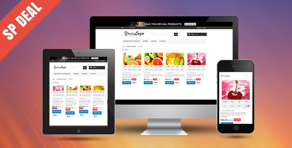 SP Deal - Responsive Prestashop Module - CodeCanyon Item for Sale