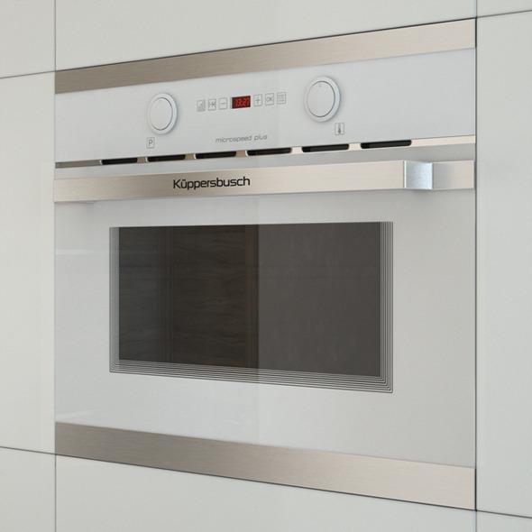 Kuppersbusch EMWK 6260 Microwave - 3DOcean Item for Sale