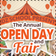 School Open Day Flyer Templates - GraphicRiver Item for Sale