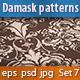 Seamless Damask Patterns Set - GraphicRiver Item for Sale