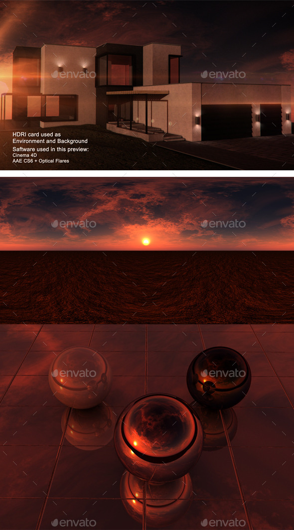 Sunset Desrt 8 - 3DOcean Item for Sale