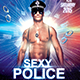 Sexy Police Party Flyer