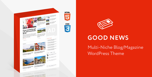 Good News – Multi-Niche Blog / Magazine WordPress Theme