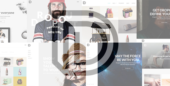 Dropout - Creative Multi-Purpose Theme - Portfolio Creative
