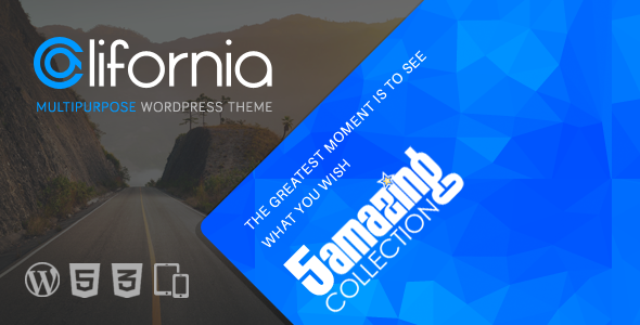 California – Multipurpose WordPress Theme