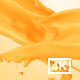 Orange Juice Collision 4K - VideoHive Item for Sale