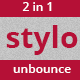 Stylo Unbounce Template - ThemeForest Item for Sale